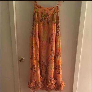 J. Crew Collection Paisley Smock Dress